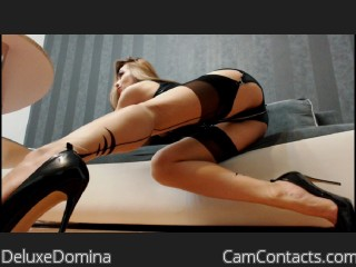 Webcam model DeluxeDomina from CamContacts
