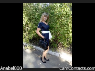 Webcam model Anabel000 from CamContacts