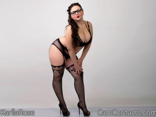 Webcam model KarllaRose from CamContacts