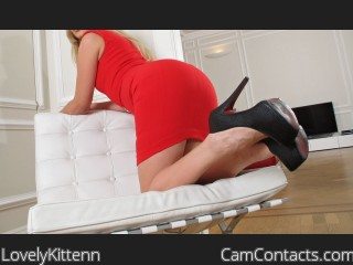 Webcam model LovelyKittenn from CamContacts