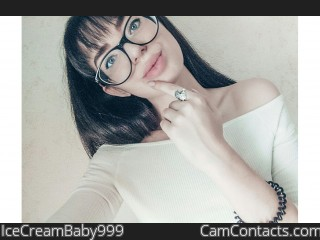 Webcam model IceCreamBaby999 from CamContacts