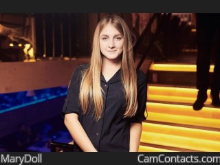Webcam model MaryDoll from CamContacts