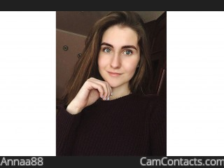 Webcam model Annaa88 from CamContacts