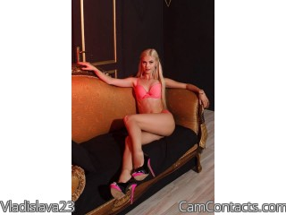 Webcam model Vladislava23 from CamContacts