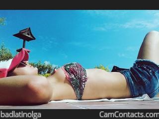 Webcam model badlatinolga from CamContacts