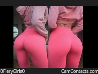 Webcam model 0FieryGirls0 from CamContacts