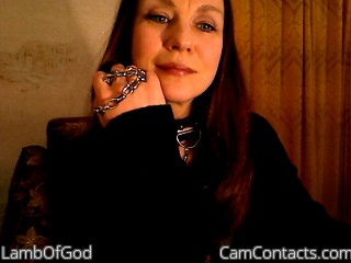 Webcam model LambOfGod from CamContacts