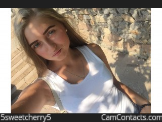 Webcam model 5sweetcherry5 from CamContacts