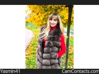 Webcam model Yasmin41 from CamContacts
