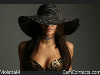 Webcam model ViolettaM from CamContacts