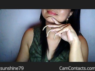 Webcam model sunshine79 from CamContacts