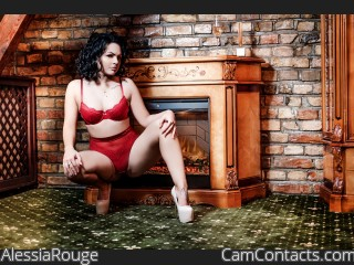 Webcam model AlessiaRouge from CamContacts