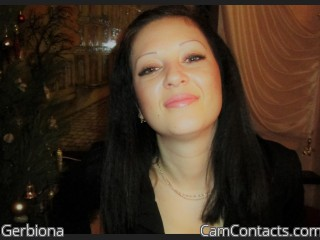 Webcam model Gerbiona from CamContacts
