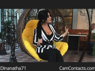 Webcam model Dinanatha71 from CamContacts
