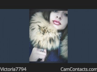 Webcam model Victoria7794 from CamContacts