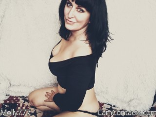 Webcam model Molly777 from CamContacts