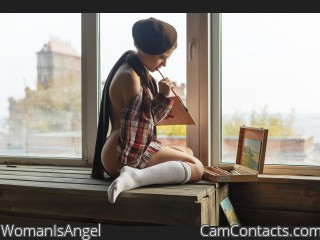 Webcam model WomanIsAngel from CamContacts
