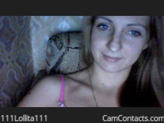 Webcam model 111Lollita111 from CamContacts