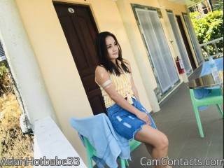 Webcam model AsianHotbabe33 from CamContacts