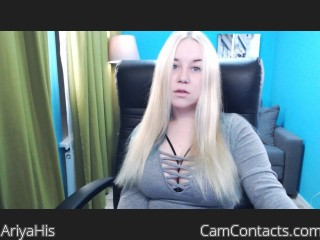Webcam model AriyaHis from CamContacts