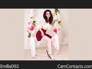 Webcam model Emilia092 from CamContacts