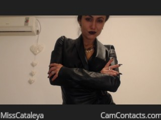 Webcam model MissCataleya from CamContacts