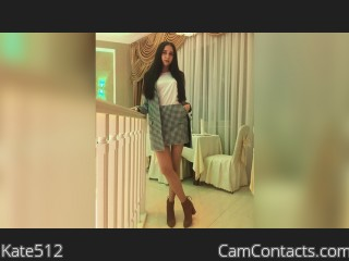 Webcam model Kate512 from CamContacts