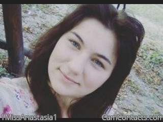 Webcam model 1MissAnastasia1 from CamContacts