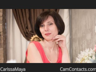Webcam model CarissaMaya from CamContacts