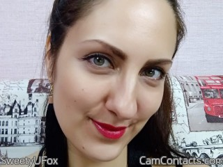 Webcam model SweetyUFox from CamContacts