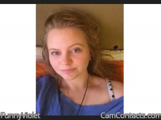 Webcam model FunnyViolet from CamContacts