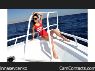 Webcam model innasevcenko from CamContacts