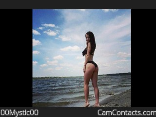 Webcam model 00Mystic00 from CamContacts
