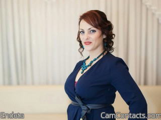 Webcam model Endeta from CamContacts