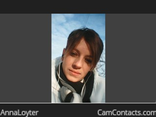 Webcam model AnnaLoyter from CamContacts