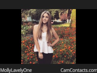 Webcam model MollyLavelyOne from CamContacts