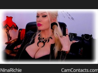 Webcam model NinaRichie from CamContacts