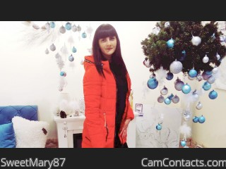 Webcam model SweetMary87 from CamContacts