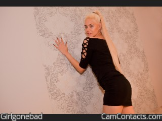 Webcam model Girlgonebad from CamContacts