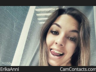 Webcam model ErikaAnni from CamContacts