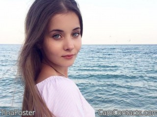 Webcam model TinaFoster from CamContacts