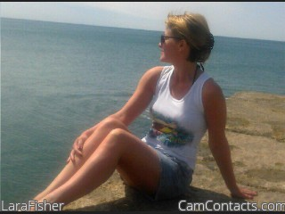 Webcam model LaraFisher from CamContacts