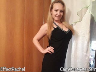 Webcam model EffectRachel from CamContacts