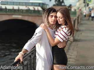 Webcam model AdamJones from CamContacts