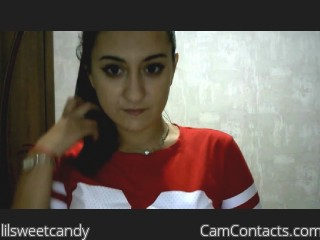 Webcam model lilsweetcandy from CamContacts