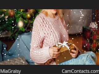 Webcam model MiaGraisy from CamContacts