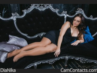 Webcam model DiaNika from CamContacts