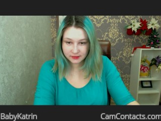 Webcam model BabyKatrin from CamContacts