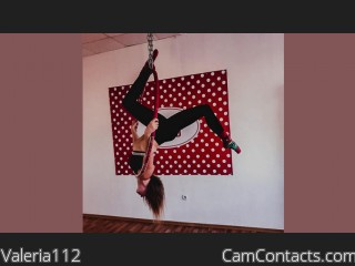 Webcam model Valeria112 from CamContacts