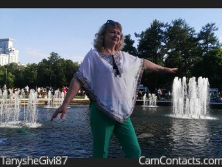 Webcam model TanysheGivi87 from CamContacts